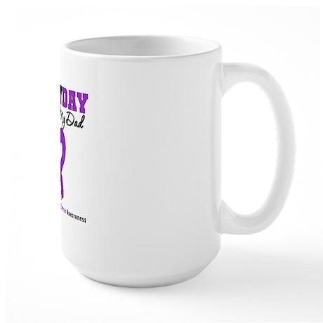 PancreaticCancer Dad Large Mug