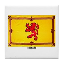 Scotland Lion Rampant Tile Coaster