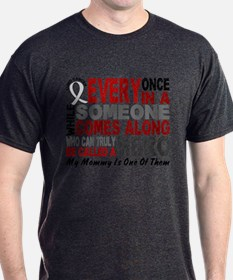 HERO Comes Along 1 Mommy LUNG CANCER T-Shirt