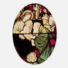 Burne-Jones Adoration Keepsake (Oval)