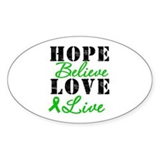 SCT BMT Hope Motto Oval Decal