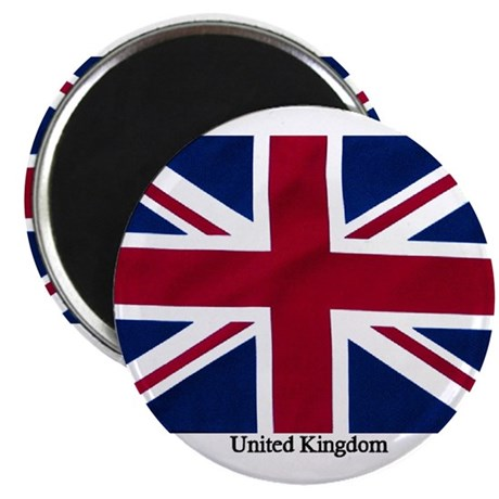 Union Jack Flag Magnet
