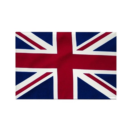 Union Jack Flag Rectangle Magnet (10 pack)