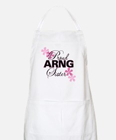 Proud ARNG Sister BBQ Apron