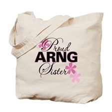 Proud ARNG Sister Tote Bag