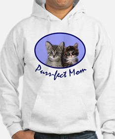 Purr-fect Mom with Kittens Hoodie
