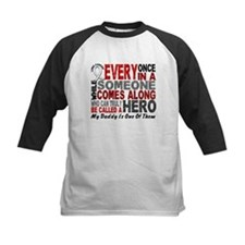 HERO Comes Along 1 Daddy LUNG CANCER Tee