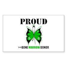 ProudBoneMarrowDonor Rectangle Decal