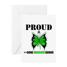 ProudBoneMarrowDonor Greeting Card