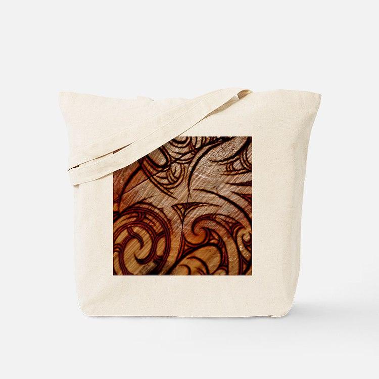 Moko Burn Tote Bag