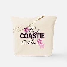 Proud Coastie Mom Tote Bag