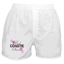 Proud Coastie Sister Boxer Shorts