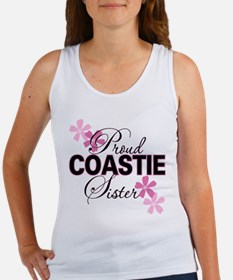 Proud Coastie Sister Women's Tank Top
