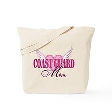 Coastie Mom Wings Tote Bag