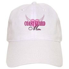 Coastie Mom Wings Baseball Cap