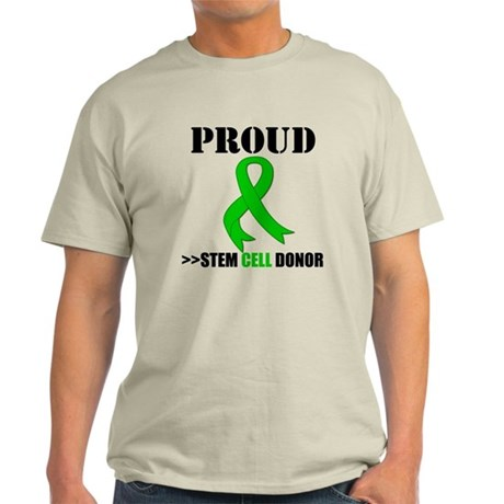 Proud Bone Marrow Donor Light T-Shirt