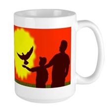 Pigeon In Flight Mug