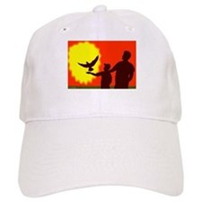 Pigeon In Flight Baseball Cap