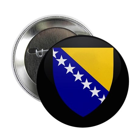 """Coat of Arms of Bosnia and 2.25"""" Button (10 pack)"""