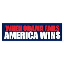America Wins Bumper Bumper Sticker