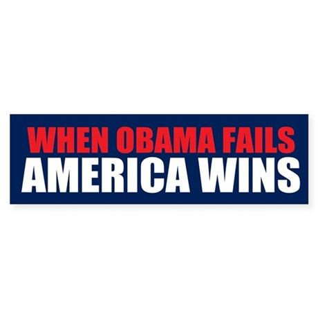 America Wins Bumper Sticker