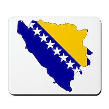 Bosnia and Herzegovina Flag Mousepad
