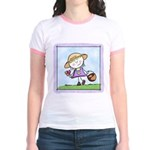Garden Girl Jr. Ringer T-Shirt