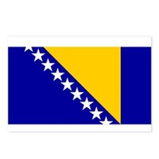 Bosnia and Herzegovina Flag Postcards (Package of