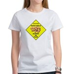 Cautions Peanuts On Floor Women's T-Shirt