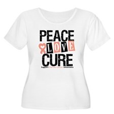 Uterine Cancer Cure T-Shirt