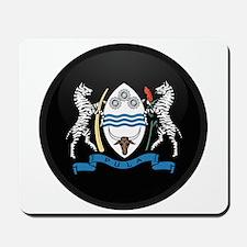 Coat of Arms of Botswana Mousepad