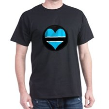 I love Botswana Flag T-Shirt