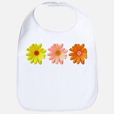 Three daisies Bib
