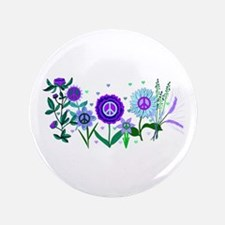 "Growing Peace 3.5"" Button (100 pack)"
