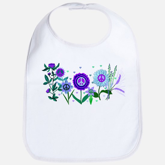 Growing Peace Bib