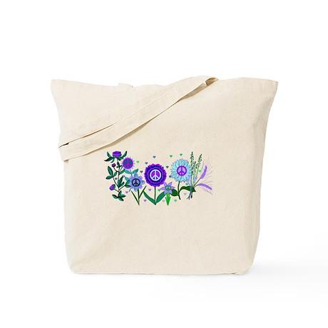 Growing Peace Tote Bag