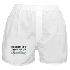 Property of a US Guardsman Boxer Shorts