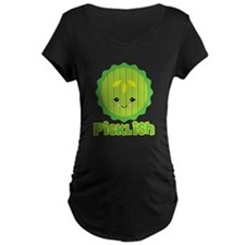 Ticklish Picklish Kawaii Pickle Slice T-Shirt