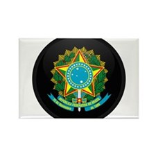 Coat of Arms of Brazil Rectangle Magnet