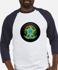 Coat of Arms of Brazil Baseball Jersey