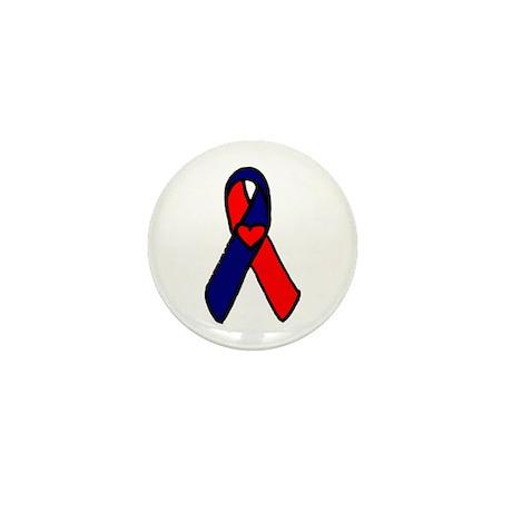 CHD Awareness Ribbon Mini Button (10 pack)