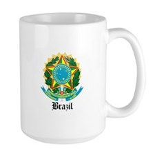Brazilian Coat of Arms Seal Mug