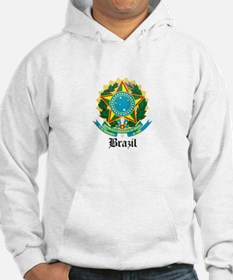 Brazilian Coat of Arms Seal Hoodie