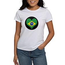 I love Brazil Flag Tee