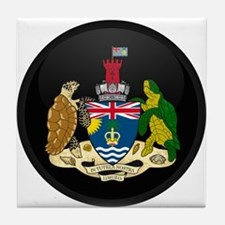 Coat of Arms of British In Tile Coaster