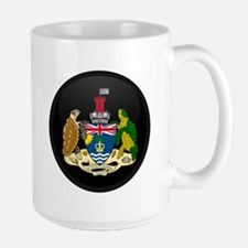 Coat of Arms of British In Large Mug