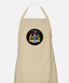 Coat of Arms of British In BBQ Apron