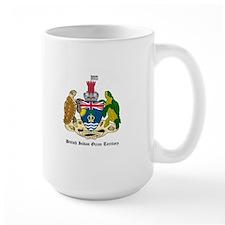 Bristish Indian Coat of Arms Mug