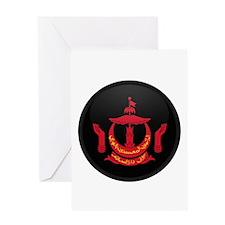 Coat of Arms of BRUNEI DARUS Greeting Card