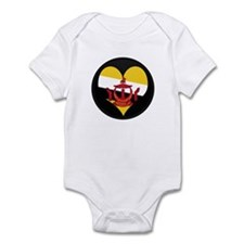 I love BRUNEI DARUSSALAM Fla Infant Bodysuit